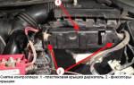 Как снять педаль газа рено меган 2