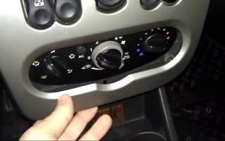 Лампа подсветки кнопки стеклоподъемника логан