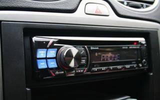 Подключение магнитолы Форд фокус 2