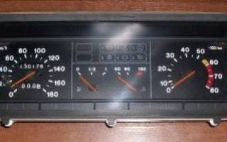 Не работает спидометр ВАЗ 2109 инжектор