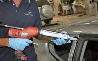 Клей герметик для лобового стекла автомобиля