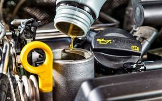 Щуп для измерения масла в двигателе