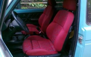 Как поставить передние сиденья на ВАЗ 2110