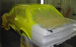 Как подготовить гараж для покраски авто?
