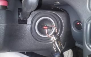Как снять замок зажигания на ВАЗ 2105