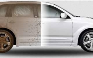 Средство для сухой мойки автомобиля