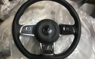 Как снять руль на фольксваген поло седан