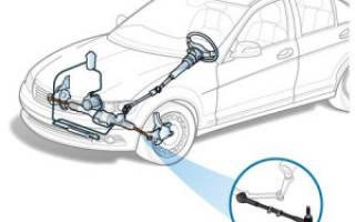 Рулевые тяги на Форд фокус 2