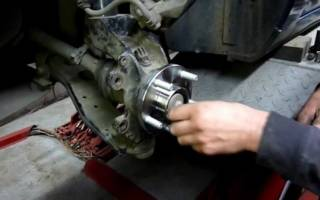 Замена заднего подшипника ступицы Форд фокус 2