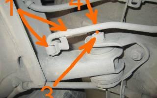 Как крепится задняя балка на ВАЗ 2109?