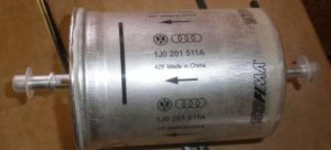 Замена топливного фильтра как часто менять