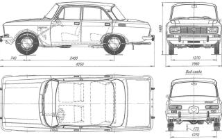 Номер кузова москвич 2140 — авто АЗЛК 2140