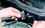Где стоит реле стартера ВАЗ 2110?
