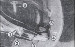 Замена передних амортизаторов ауди 80 б3