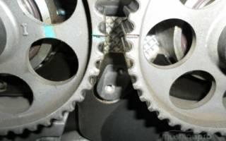 Метки ГРМ на дэу нексия 16 клапанов