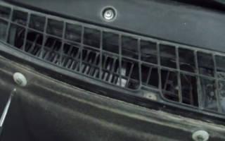 Салонный фильтр на приору без кондиционера