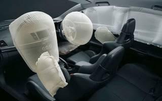Принцип работы подушки безопасности в авто