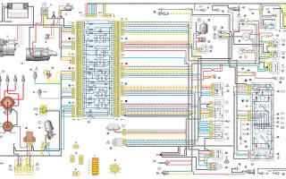 Схема подключения печки на ВАЗ 2107