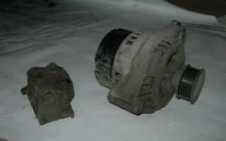 Замена подшипника генератора калина 8 клапанов