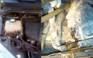 Форд фокус 1 замена охлаждающей жидкости