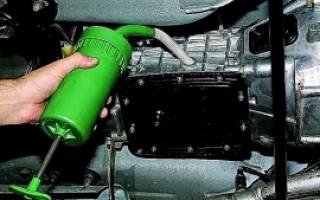 Форд транзит объем масла в КПП