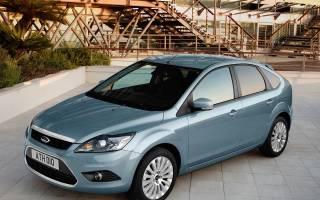 Форд фокус 2 замена топливного фильтра