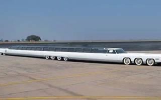 Самый длинный в мире автомобиль сколько метров