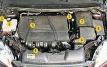 Блок центрального замка Форд фокус 2