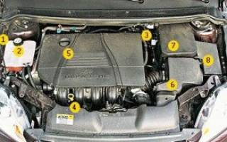 Форд фокус 2 фото под капотом
