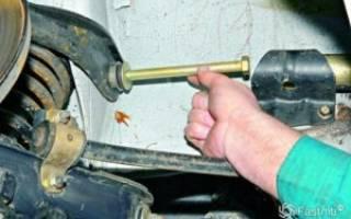 Как поменять рычаги на ВАЗ 2107