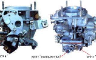 Клапан холостого хода ВАЗ 2106 карбюратор