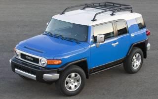 Тойота fj cruiser 2016 года обзор цена