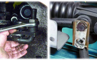 Как снять рулевую рейку на ВАЗ 2109?