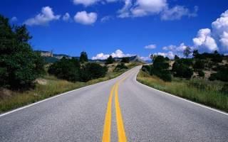 Дорога из чего состоит, автодорога