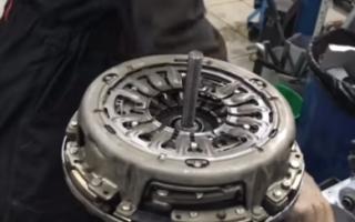 Замена сцепления Форд фокус 3 механика
