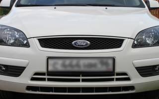 Ручная регулировка фар Форд фокус 2