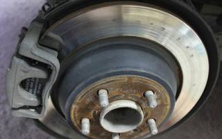 Замена задних тормозных колодок Форд мондео 4