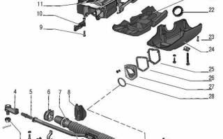 Приора ремонт рулевой рейки с электроусилителем
