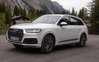 Audi q7 2016 технические характеристики