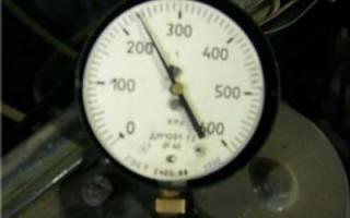 Давление в топливной рампе ВАЗ 2109 инжектор