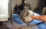 Ресурс задних тормозных колодок рено логан