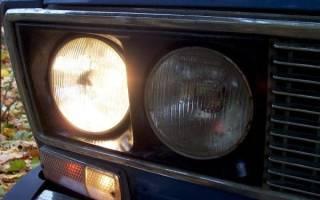 Не горит ближний свет ВАЗ 2107
