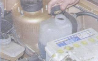 Как правильно заливать тосол в ВАЗ 2109?
