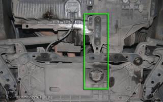 Опора двигателя пассат б6