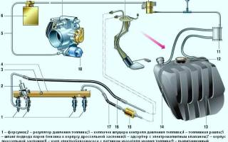 Коллектор на ВАЗ 2107 инжектор