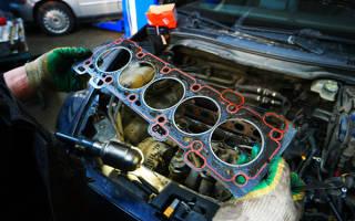 После замены прокладки ГБЦ двигатель троит