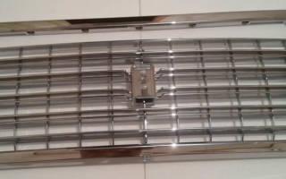 Решетка радиатора ВАЗ 2109 тюнинг
