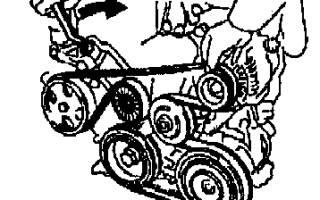 Как снять генератор на тойота королла 120