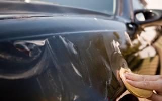 Как правильно полировать кузов машины?