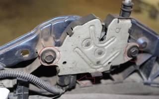 Сборка личинки замка капота Форд фокус 1